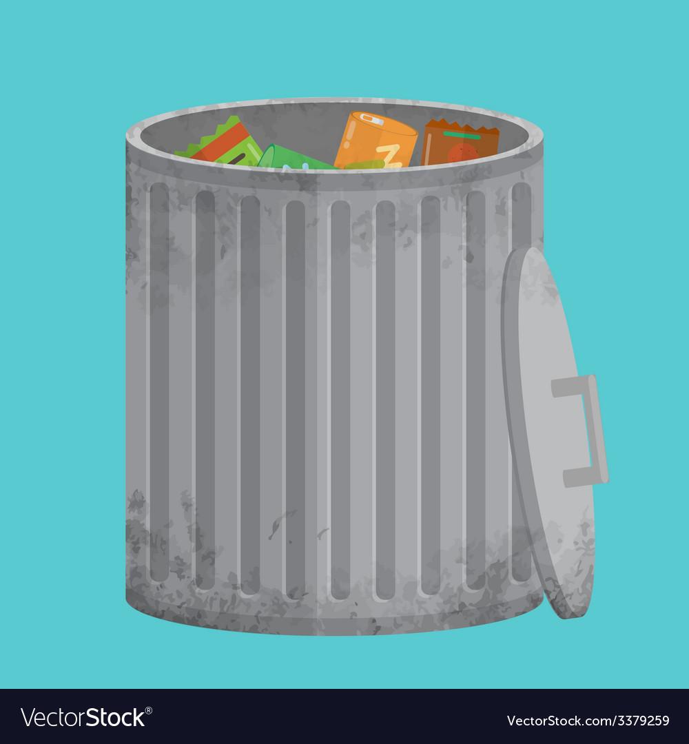 Trash can icon xxl vector | Price: 1 Credit (USD $1)
