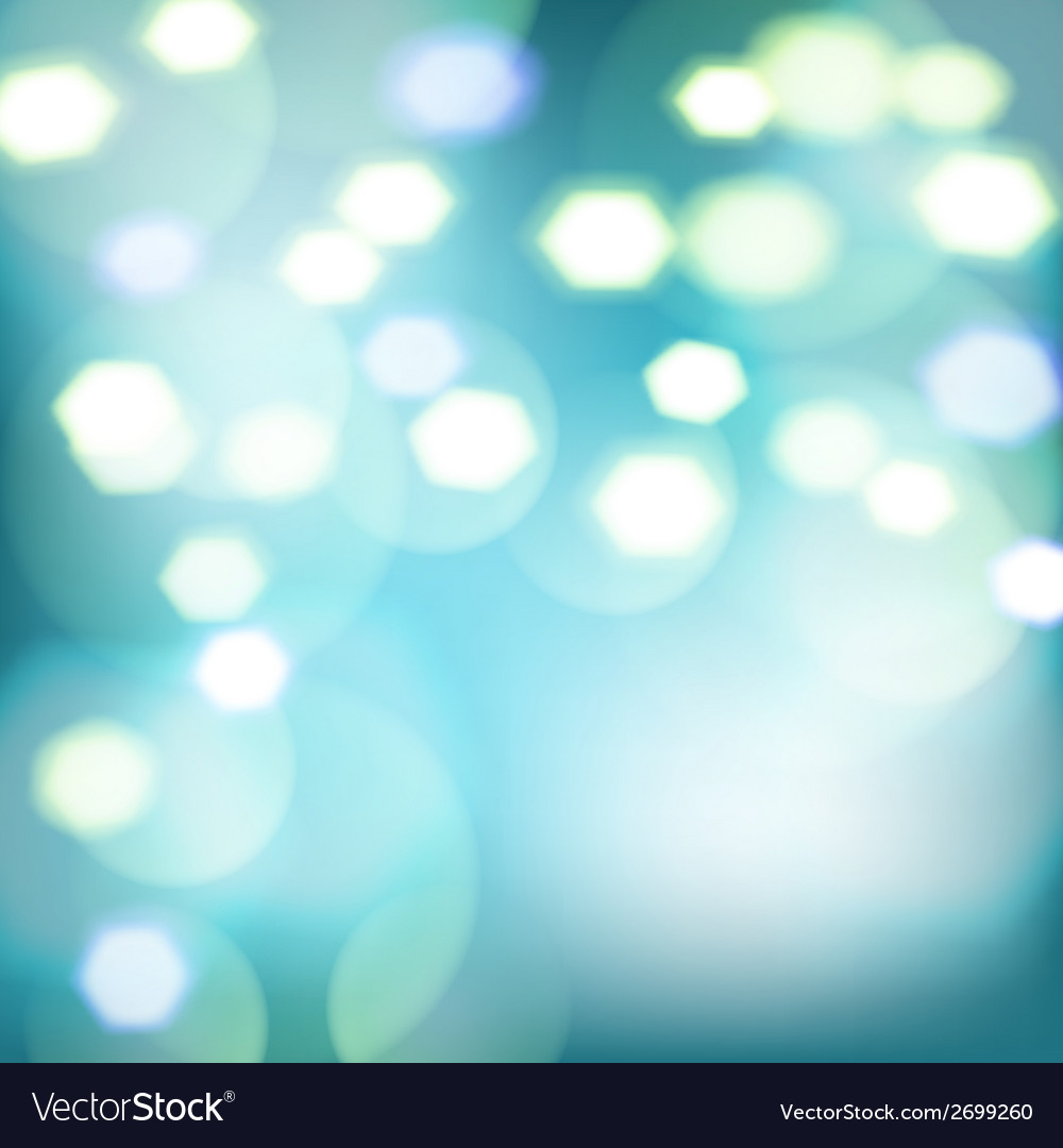 Abstract background with color bokeh lights vector | Price: 1 Credit (USD $1)
