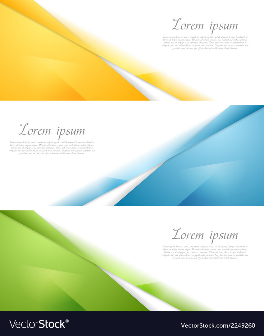 Concept abstract banners vector | Price: 1 Credit (USD $1)