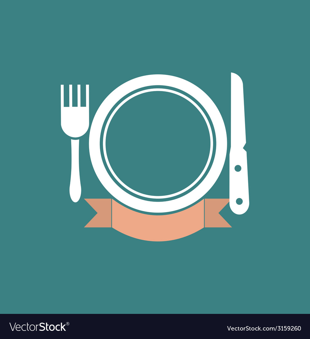 Eatery symbol vector | Price: 1 Credit (USD $1)