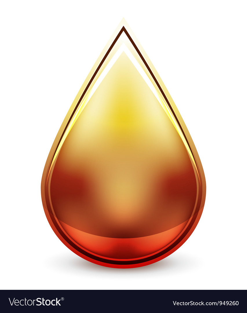 Hi-tech water drop icon vector | Price: 1 Credit (USD $1)
