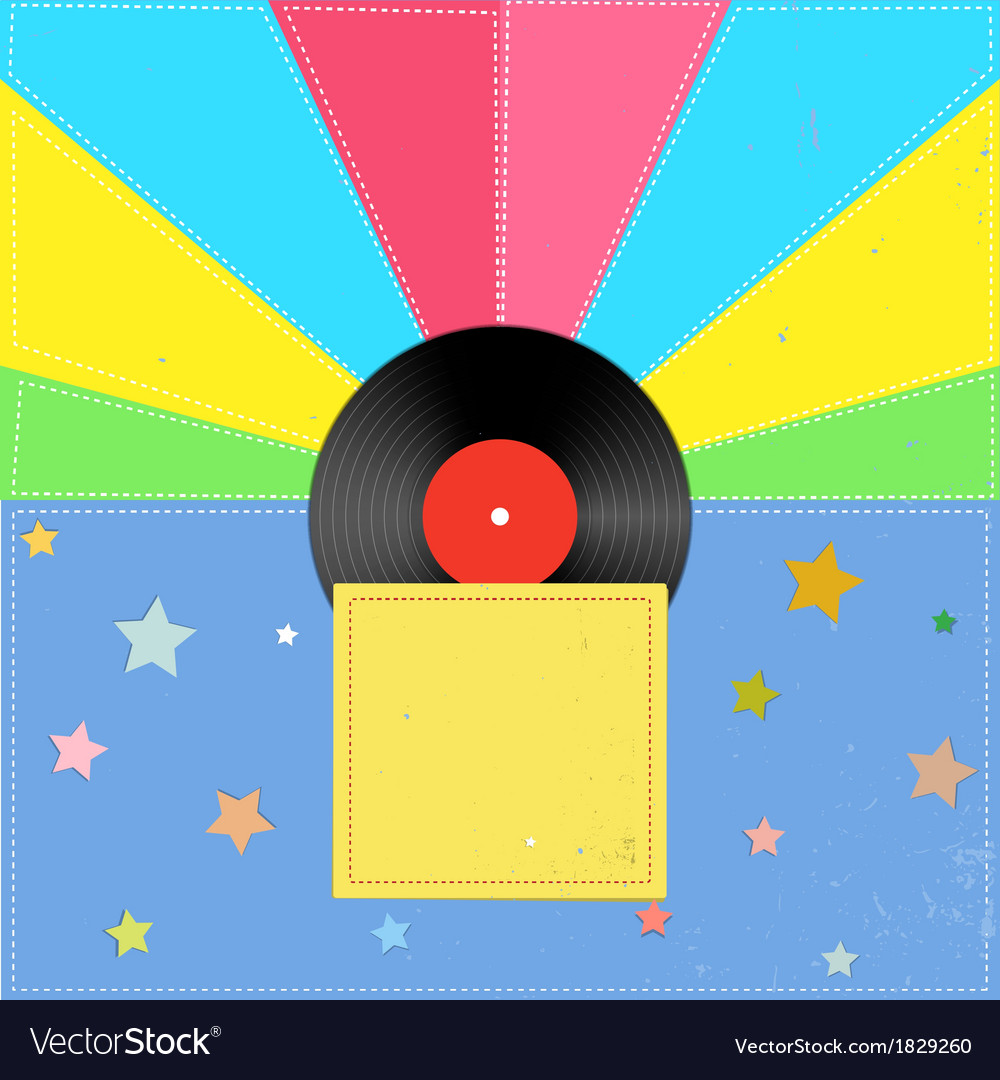 Music in the style of a retro vector | Price: 1 Credit (USD $1)