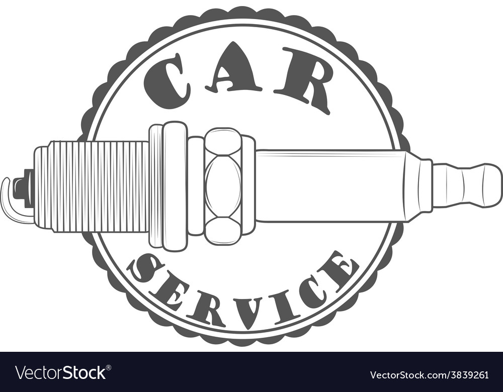 Car service repair quality logos and pictures vector | Price: 1 Credit (USD $1)