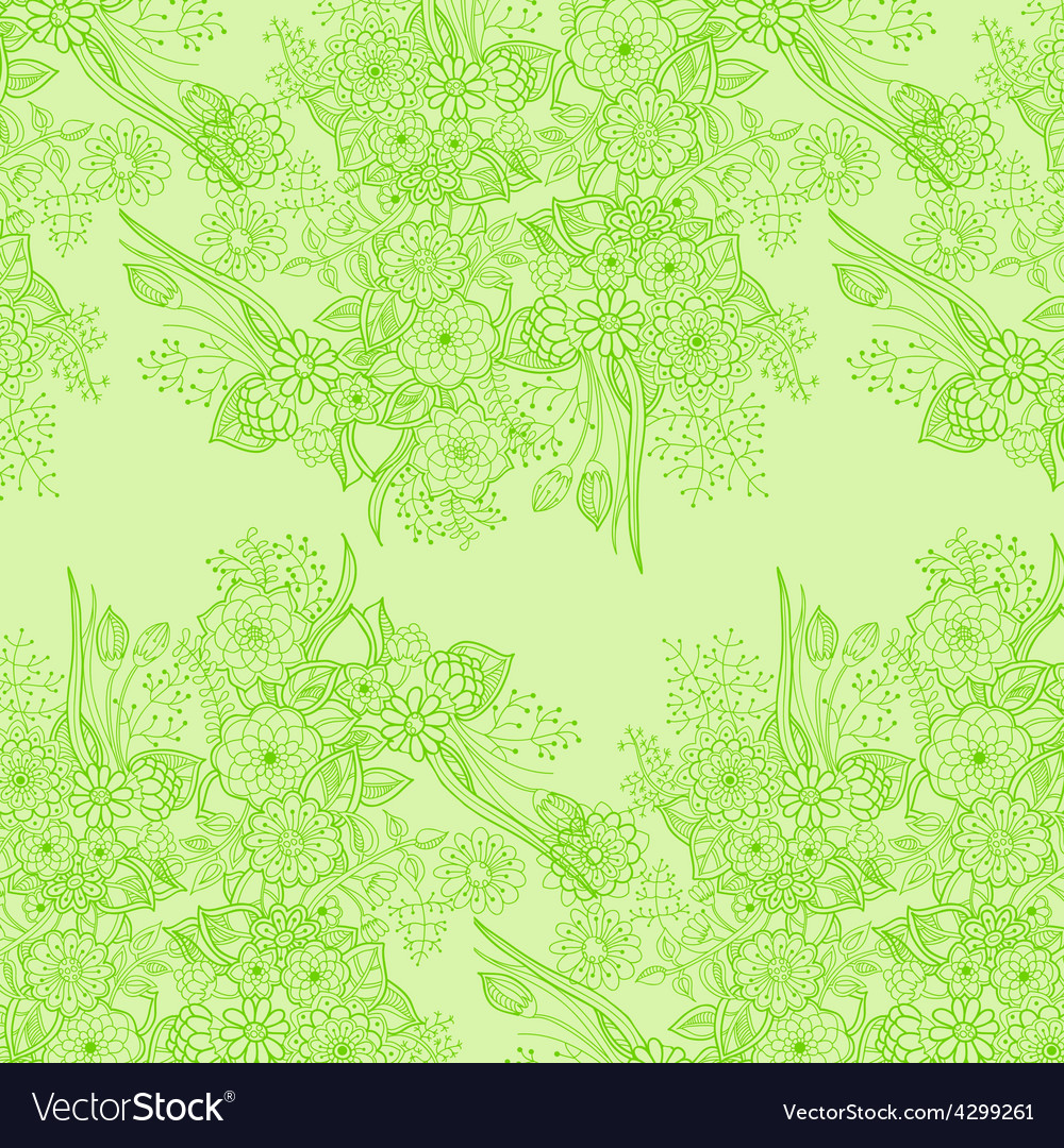 Cork background of flowers leaves and natural vector | Price: 1 Credit (USD $1)