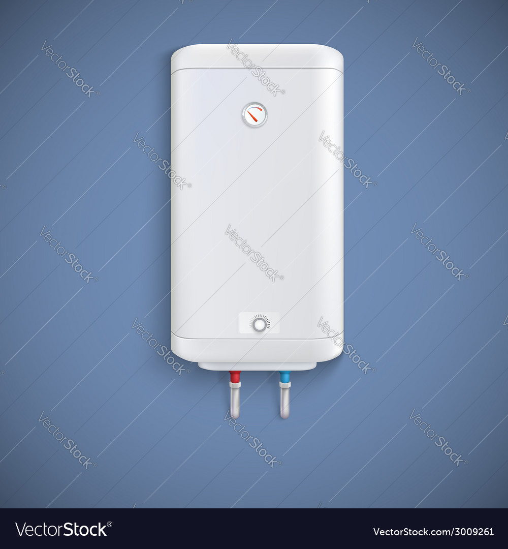 Electric water heater vector | Price: 1 Credit (USD $1)