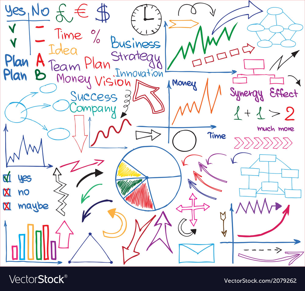 Business materials vector | Price: 1 Credit (USD $1)