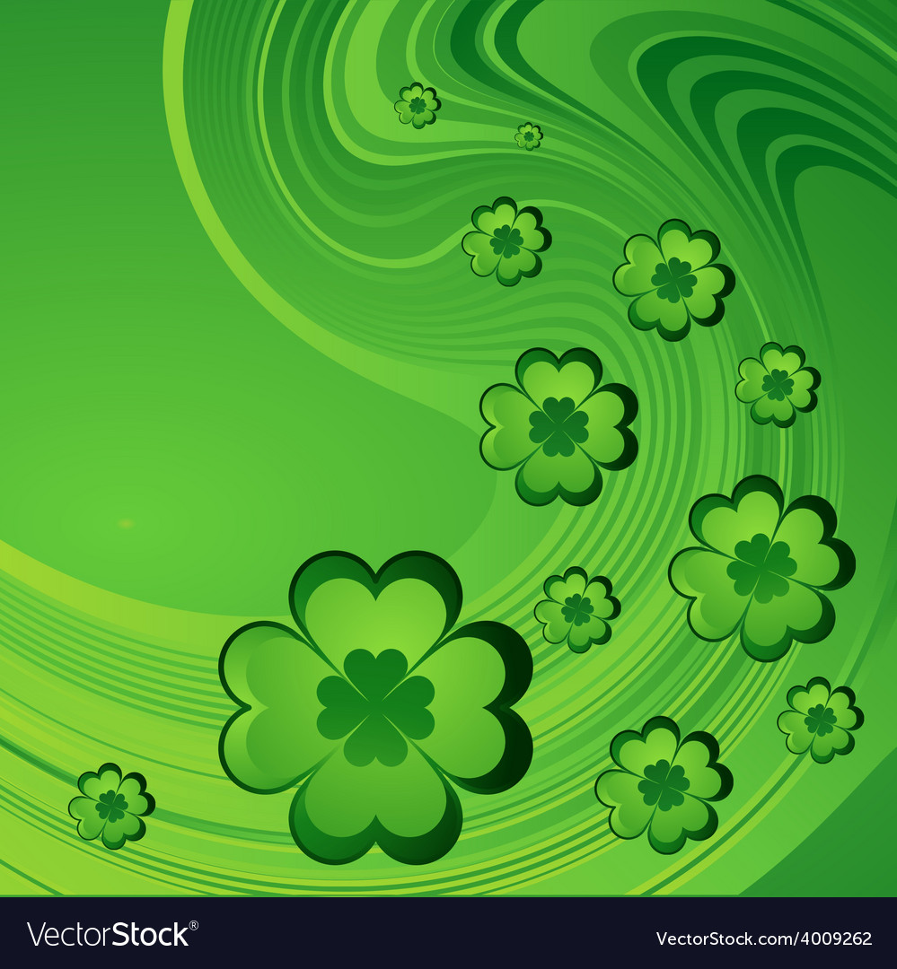Happy saint patrick day background vector   Price: 1 Credit (USD $1)