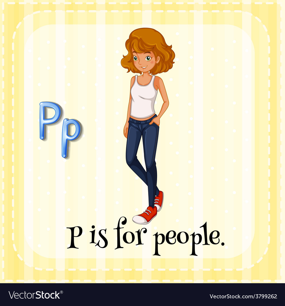 Letter p vector | Price: 1 Credit (USD $1)
