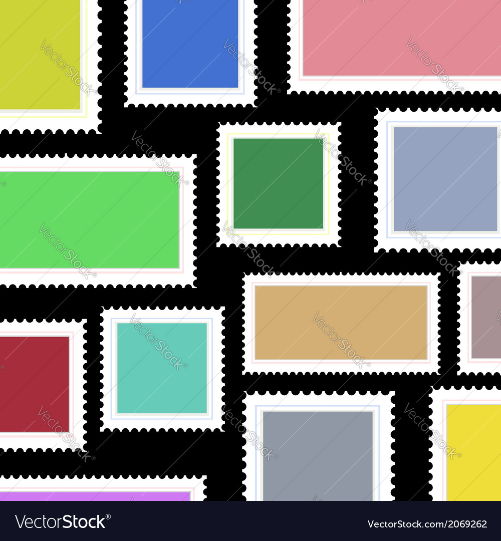 Stamps background vector | Price: 1 Credit (USD $1)