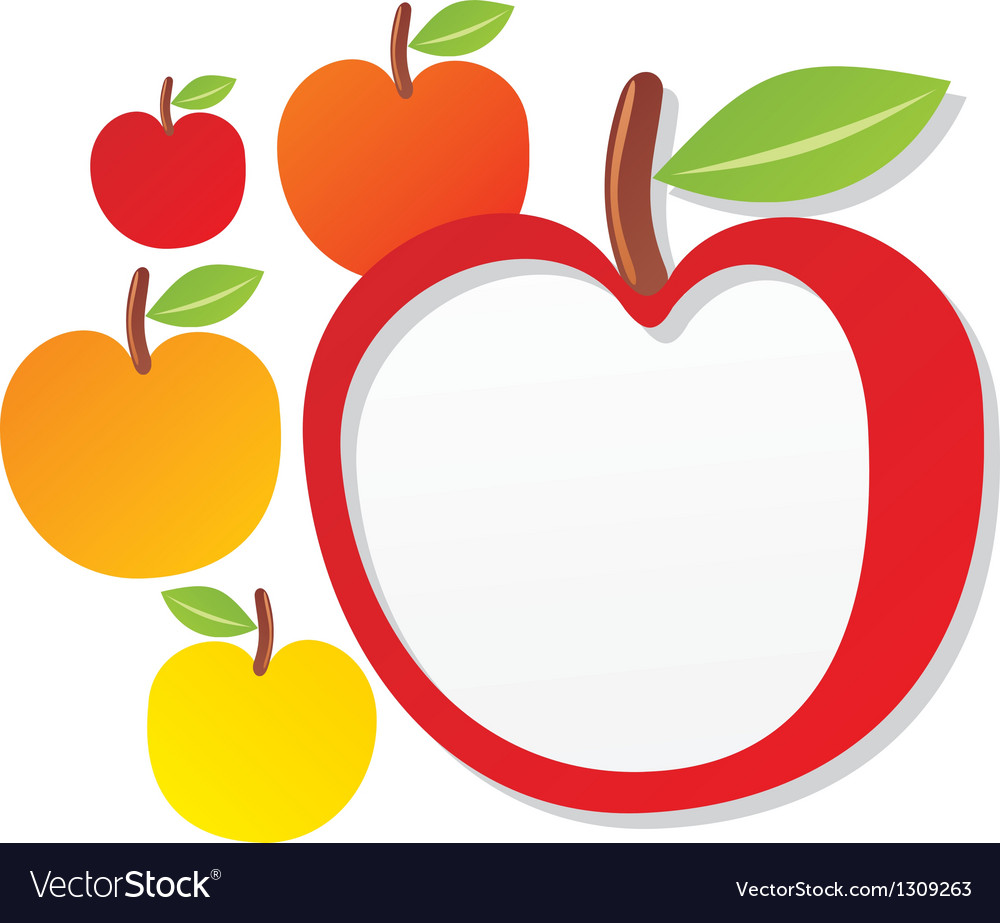 Apple sign vector | Price: 1 Credit (USD $1)