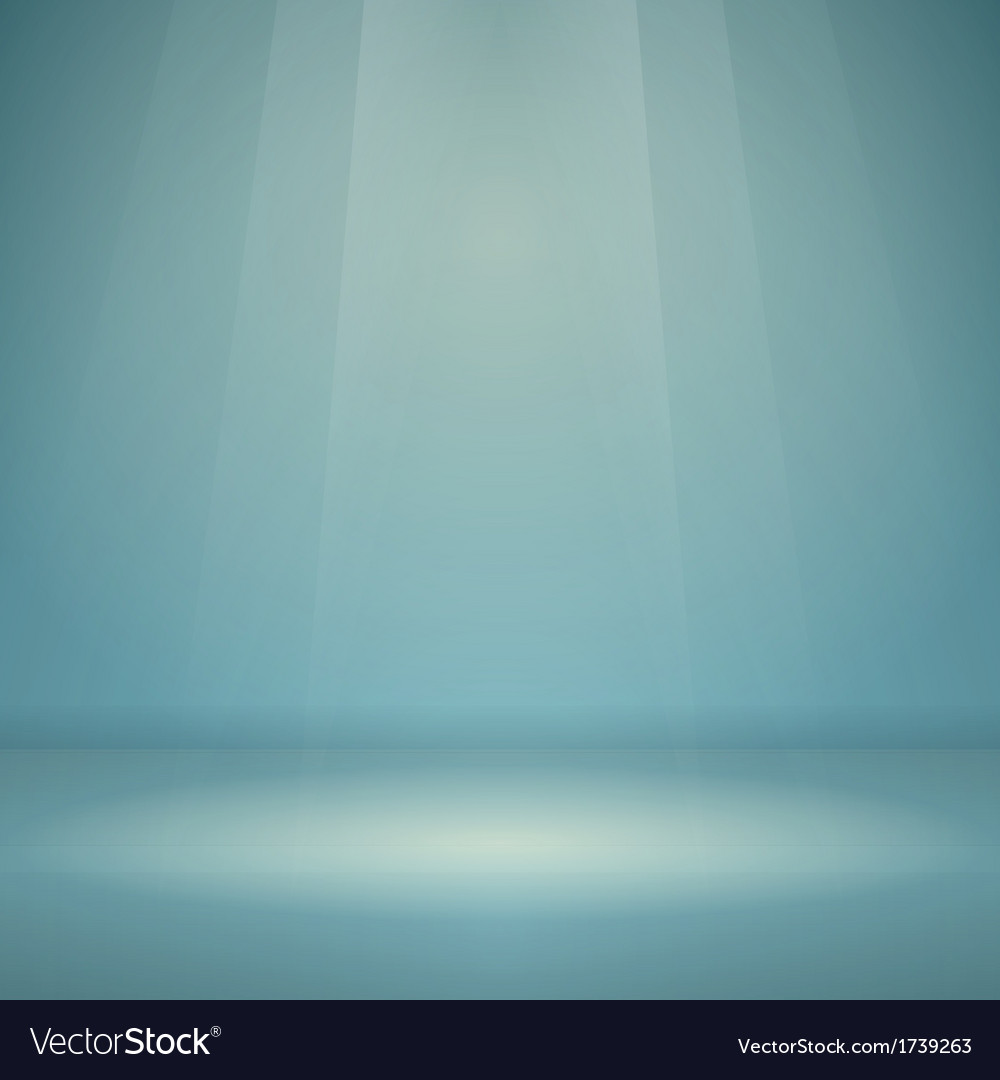 Blue empty scene vector | Price: 1 Credit (USD $1)