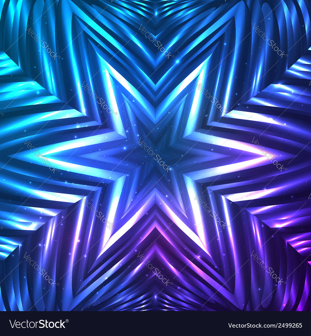 Abstract shining cosmic star vector   Price: 1 Credit (USD $1)