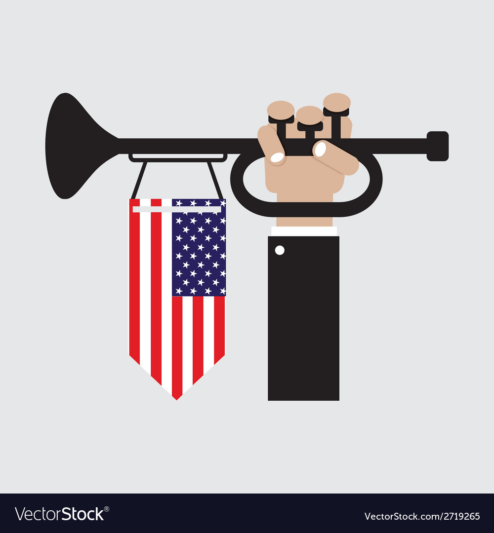 American independence day vector | Price: 1 Credit (USD $1)