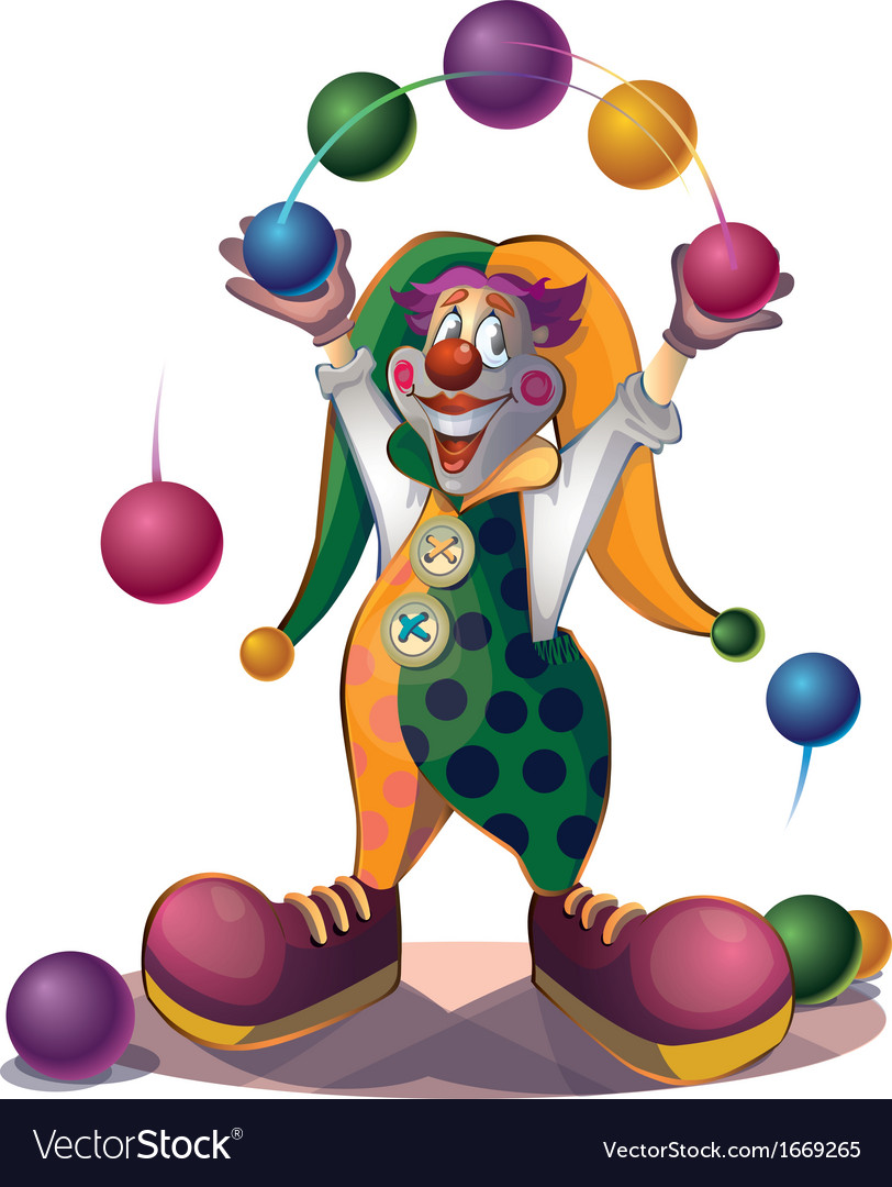 Clown vector | Price: 3 Credit (USD $3)