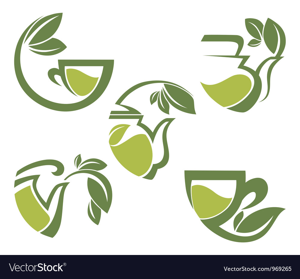 Warm herbal tea vector | Price: 1 Credit (USD $1)