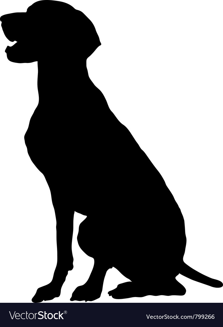 German pointer vector | Price: 1 Credit (USD $1)