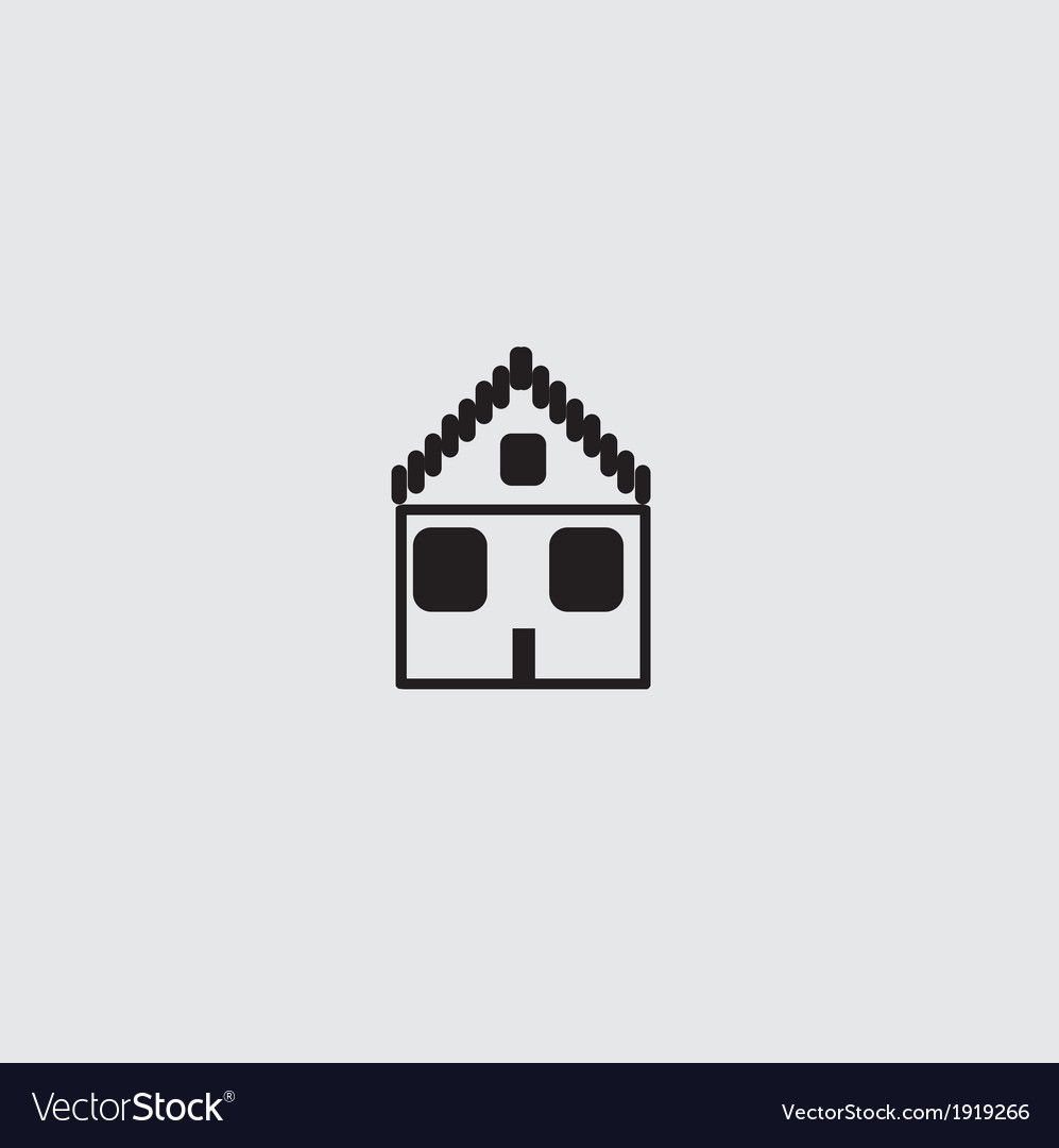 Home icon vector | Price: 1 Credit (USD $1)