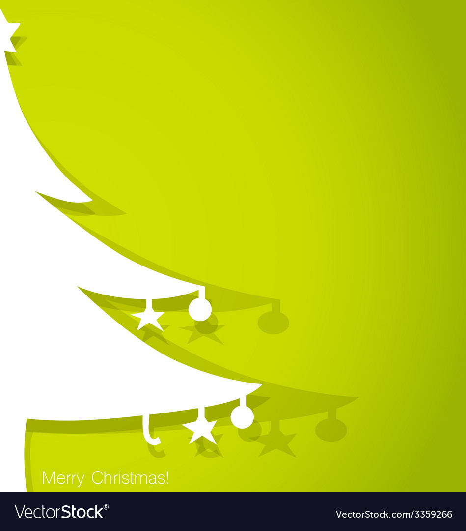 Merry christmas gift card design vector | Price: 1 Credit (USD $1)