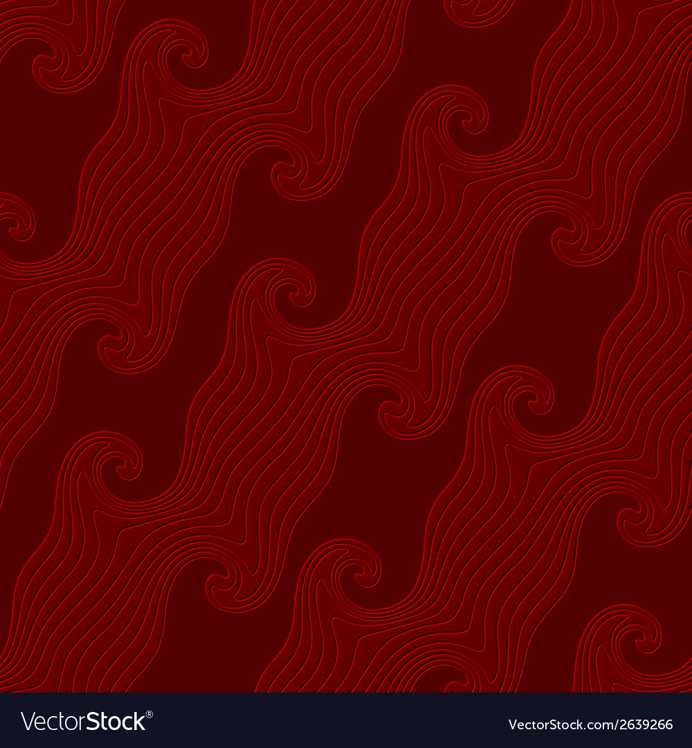 Red curved diagonal lines textured with emboss vector | Price: 1 Credit (USD $1)