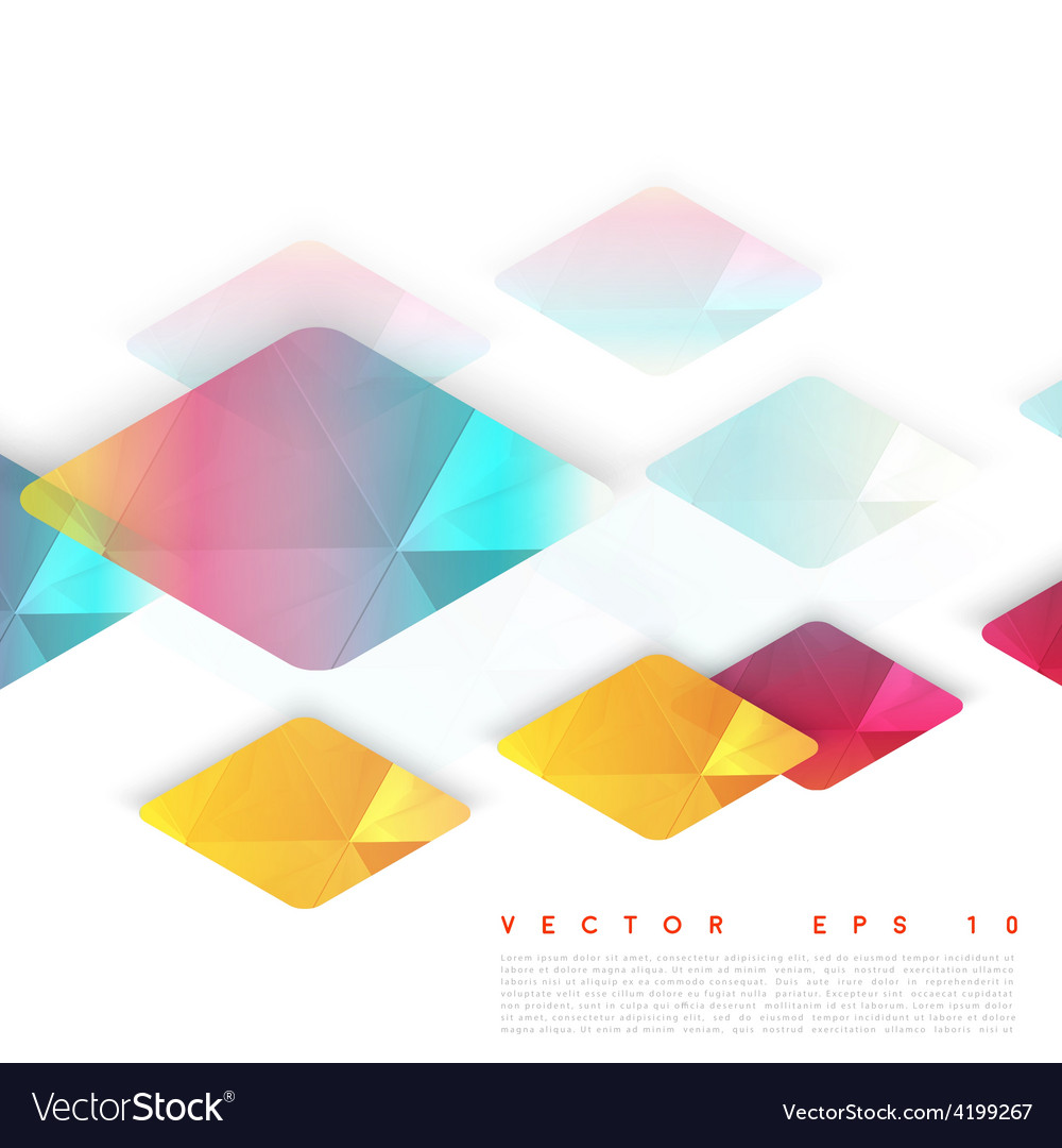Design rhombus vector | Price: 1 Credit (USD $1)