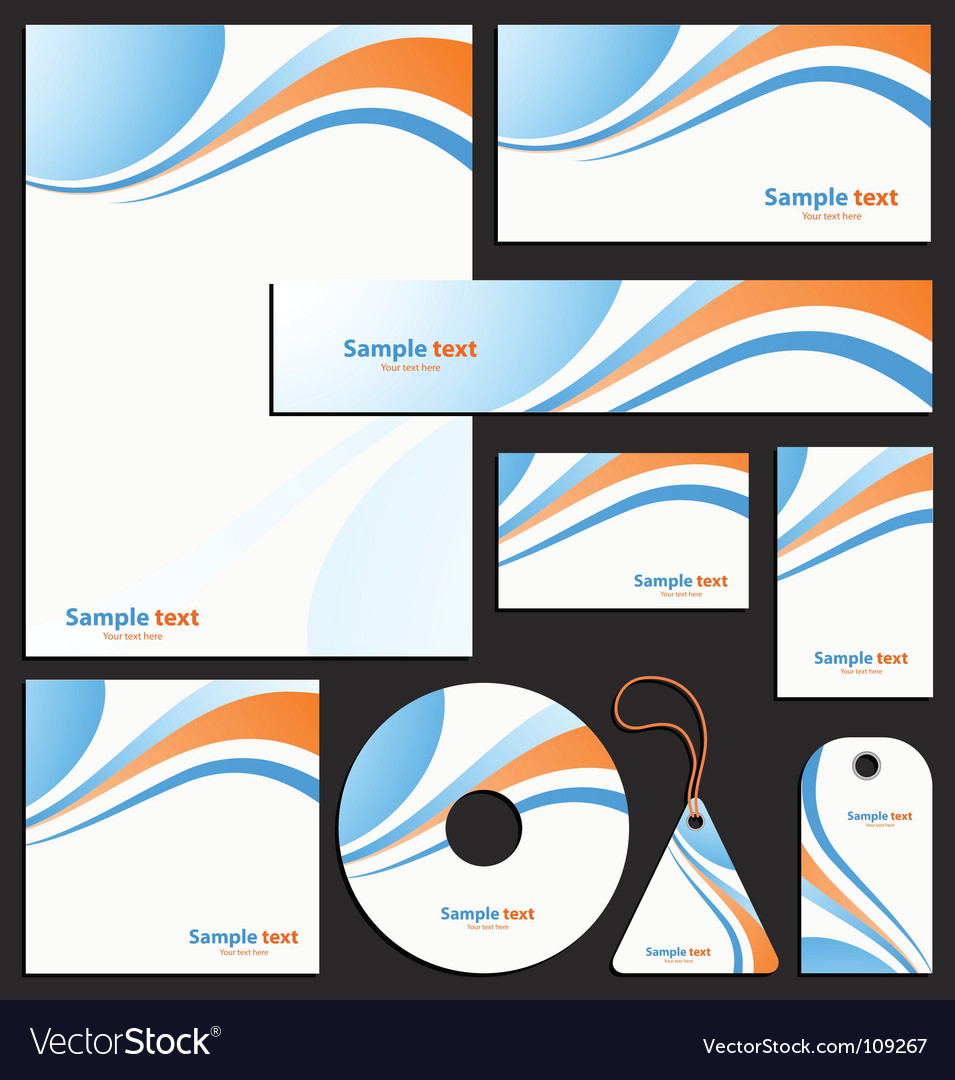 Letterhead template design vector | Price: 1 Credit (USD $1)