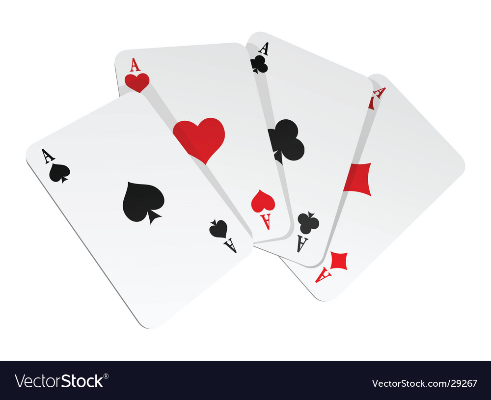 Illustration of 4 cards vector | Price: 1 Credit (USD $1)