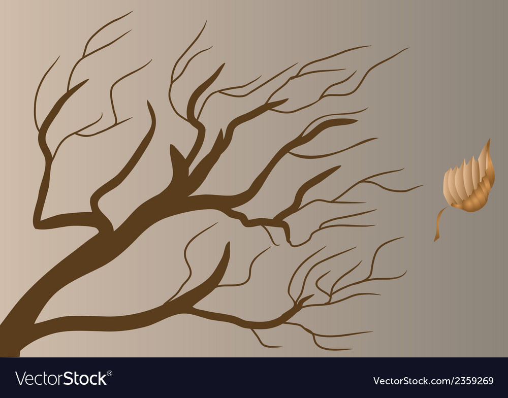 Dead branch vector | Price: 1 Credit (USD $1)