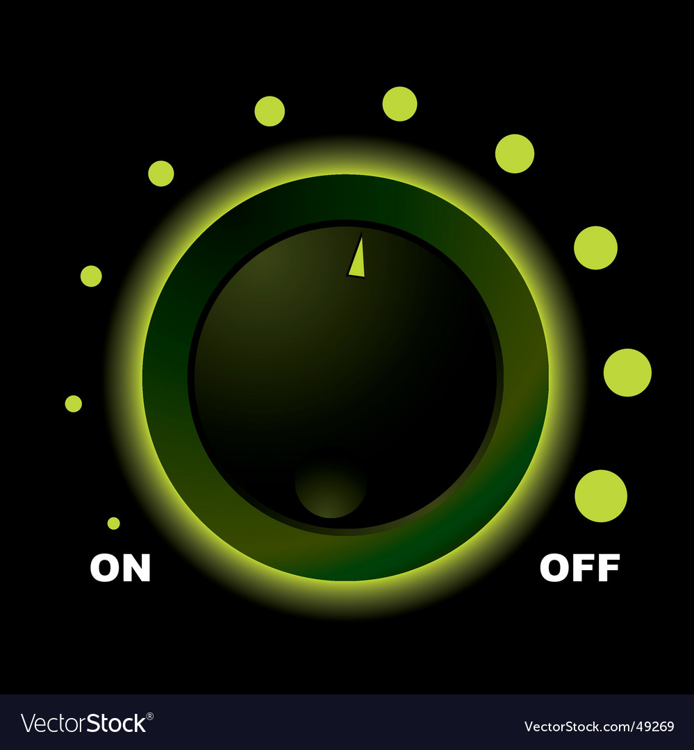 Switch dial vector | Price: 1 Credit (USD $1)
