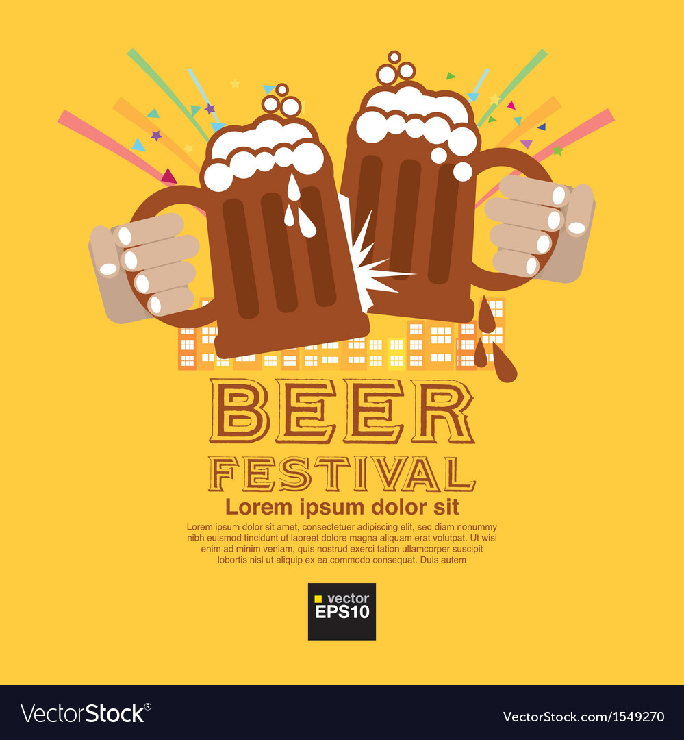 Beer festival eps10 vector | Price: 1 Credit (USD $1)