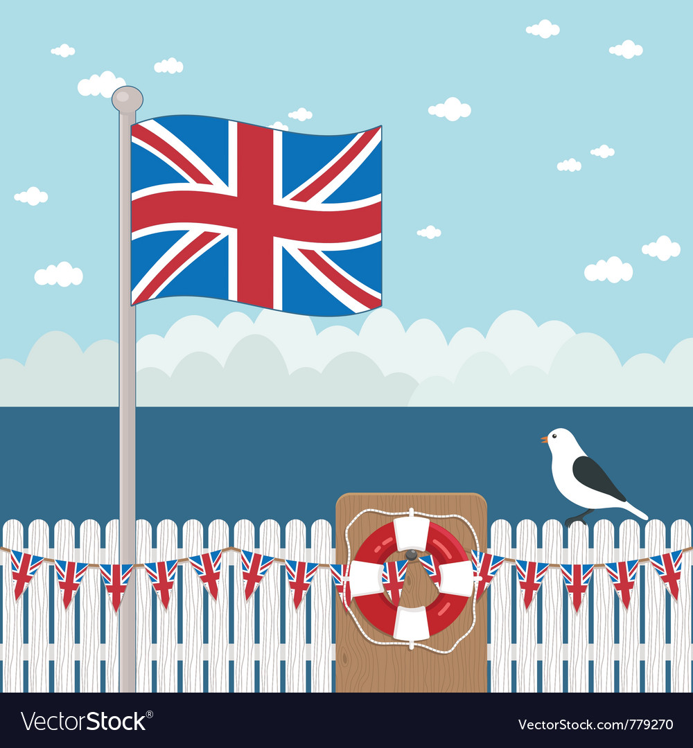 Great britain coast vector | Price: 3 Credit (USD $3)