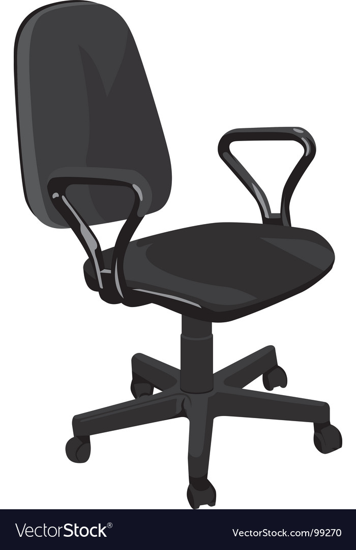 Office armchair vector | Price: 1 Credit (USD $1)