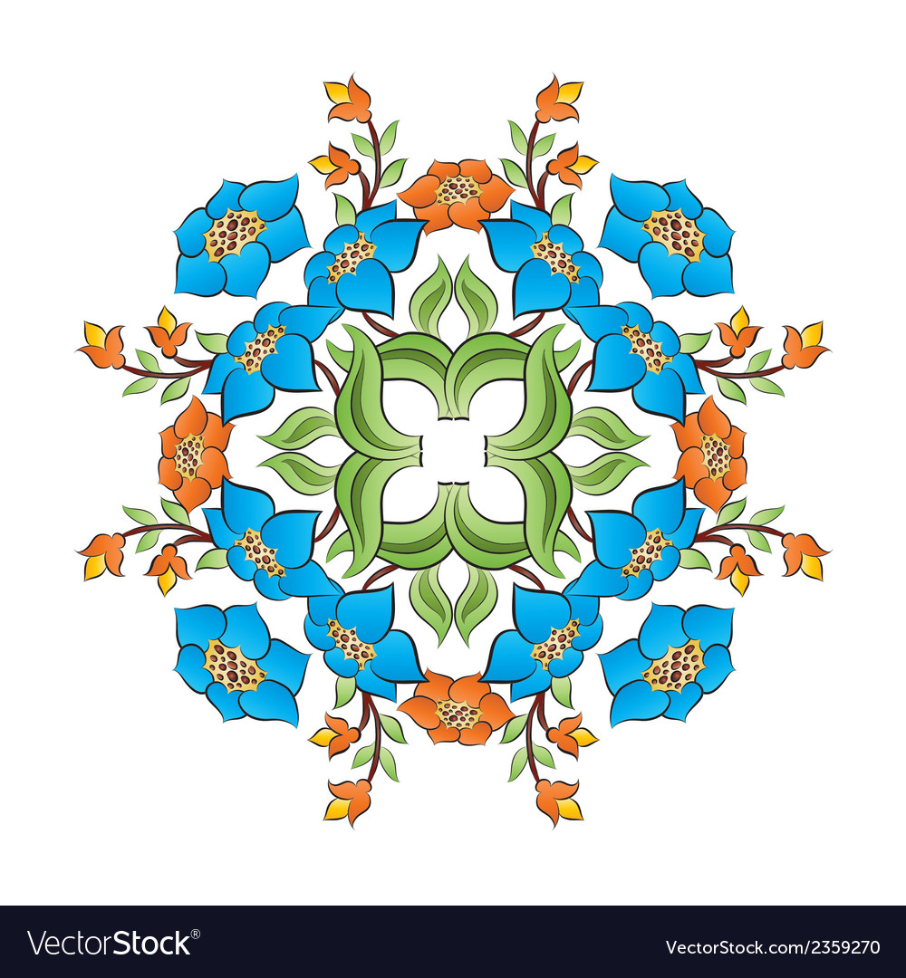 Ottoman motifs design series with forty seven vector | Price: 1 Credit (USD $1)