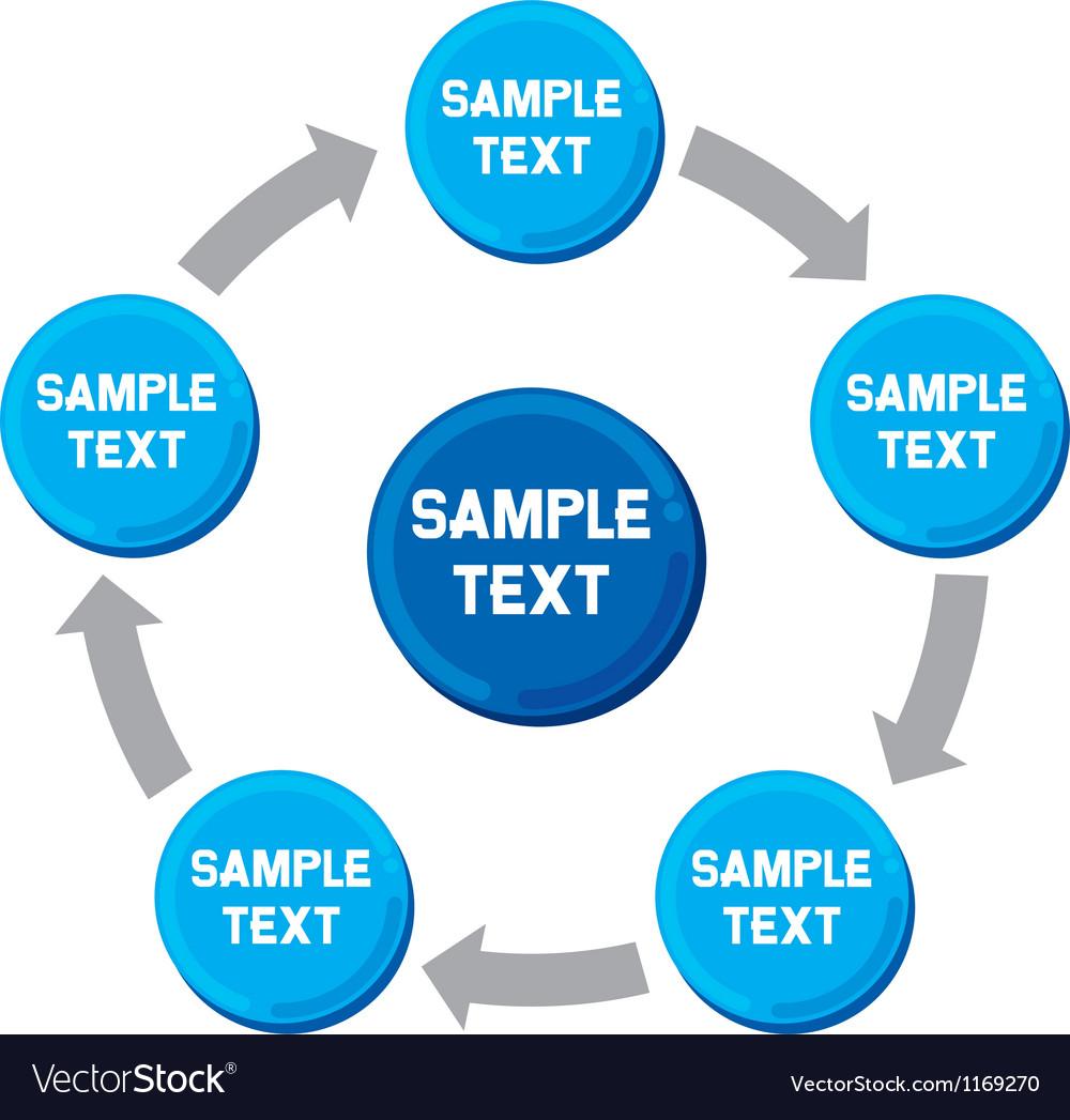 Presentation diagram business process-marketing vector   Price: 1 Credit (USD $1)
