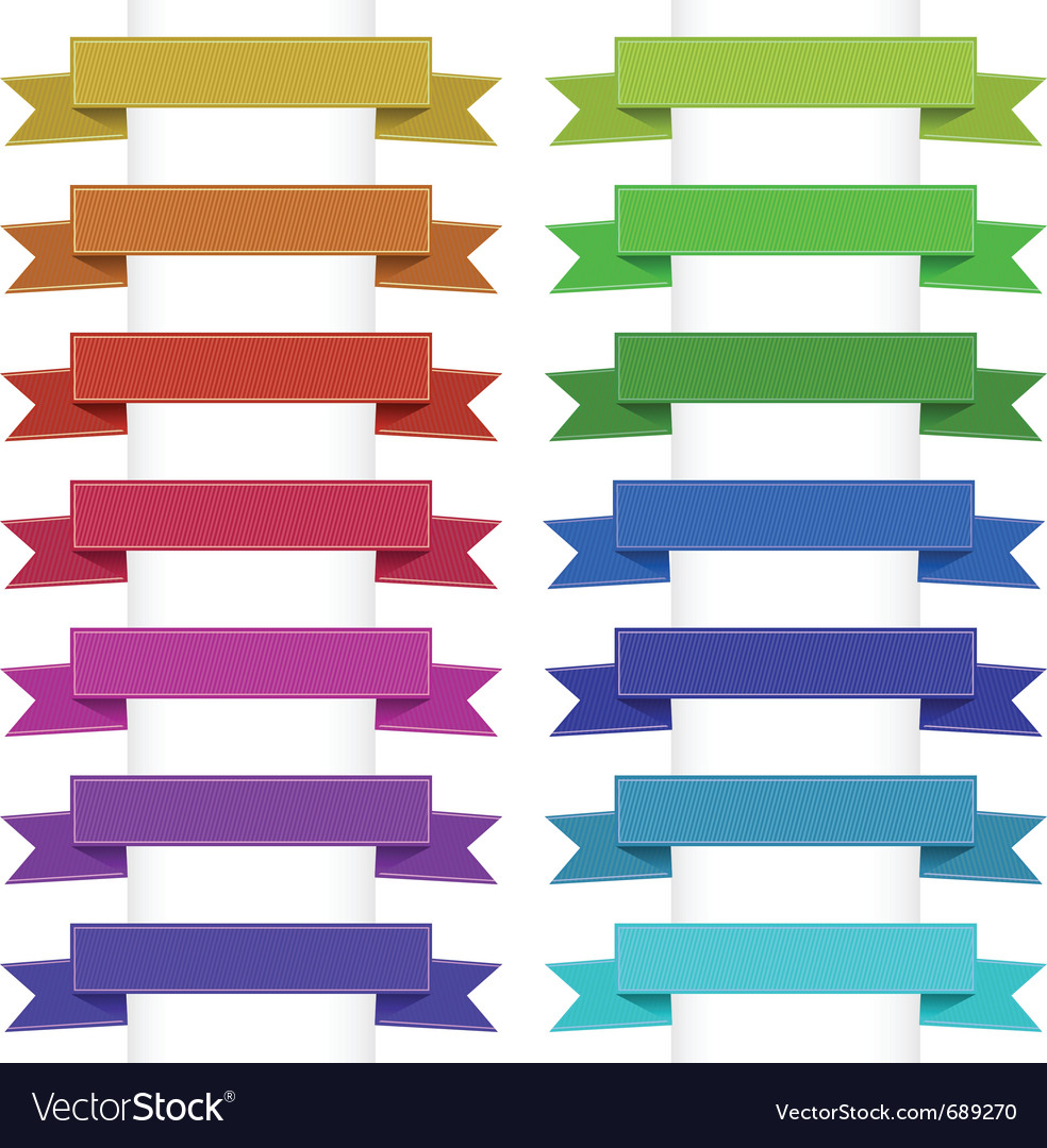 Ribbons collection vector   Price: 1 Credit (USD $1)