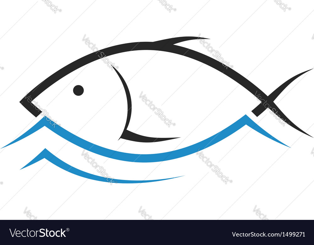 Design of fish vector | Price: 1 Credit (USD $1)