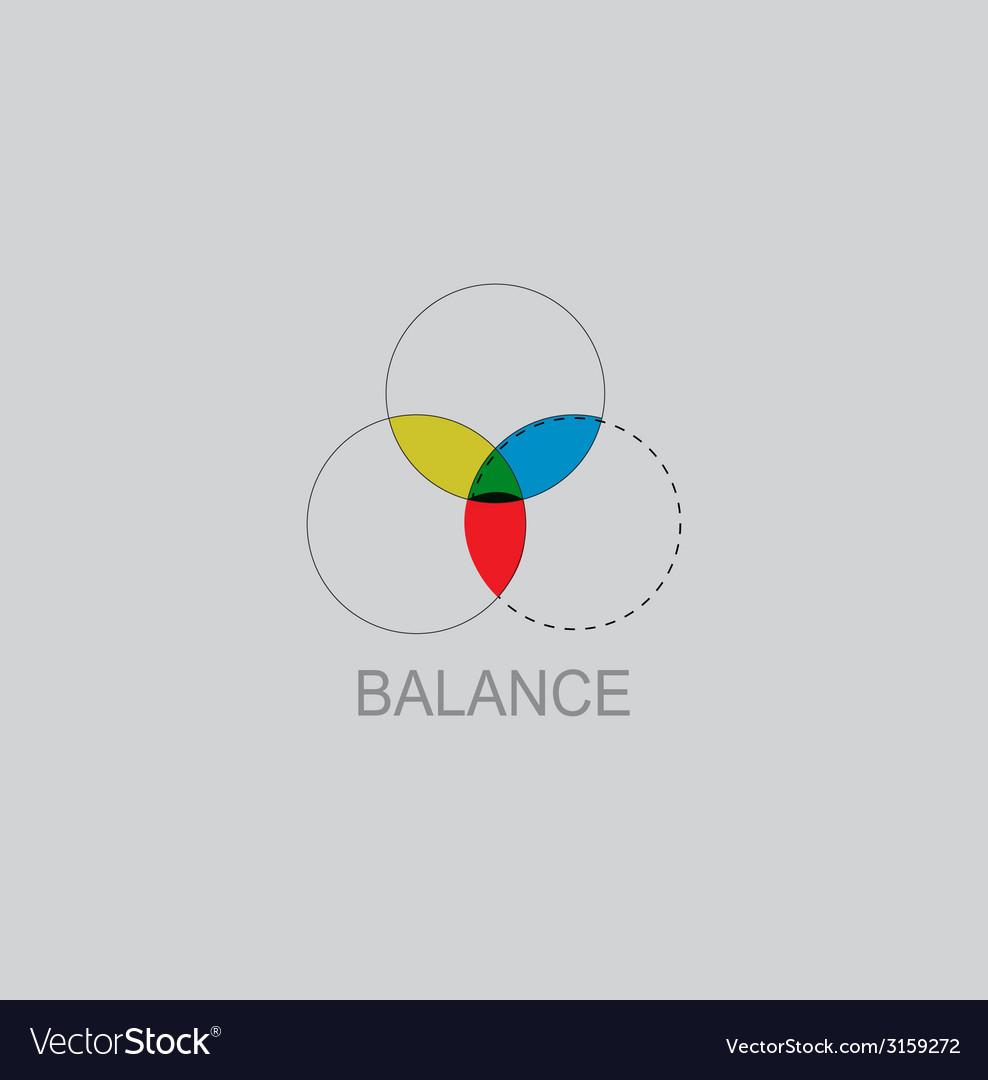 Color balance icon vector   Price: 1 Credit (USD $1)