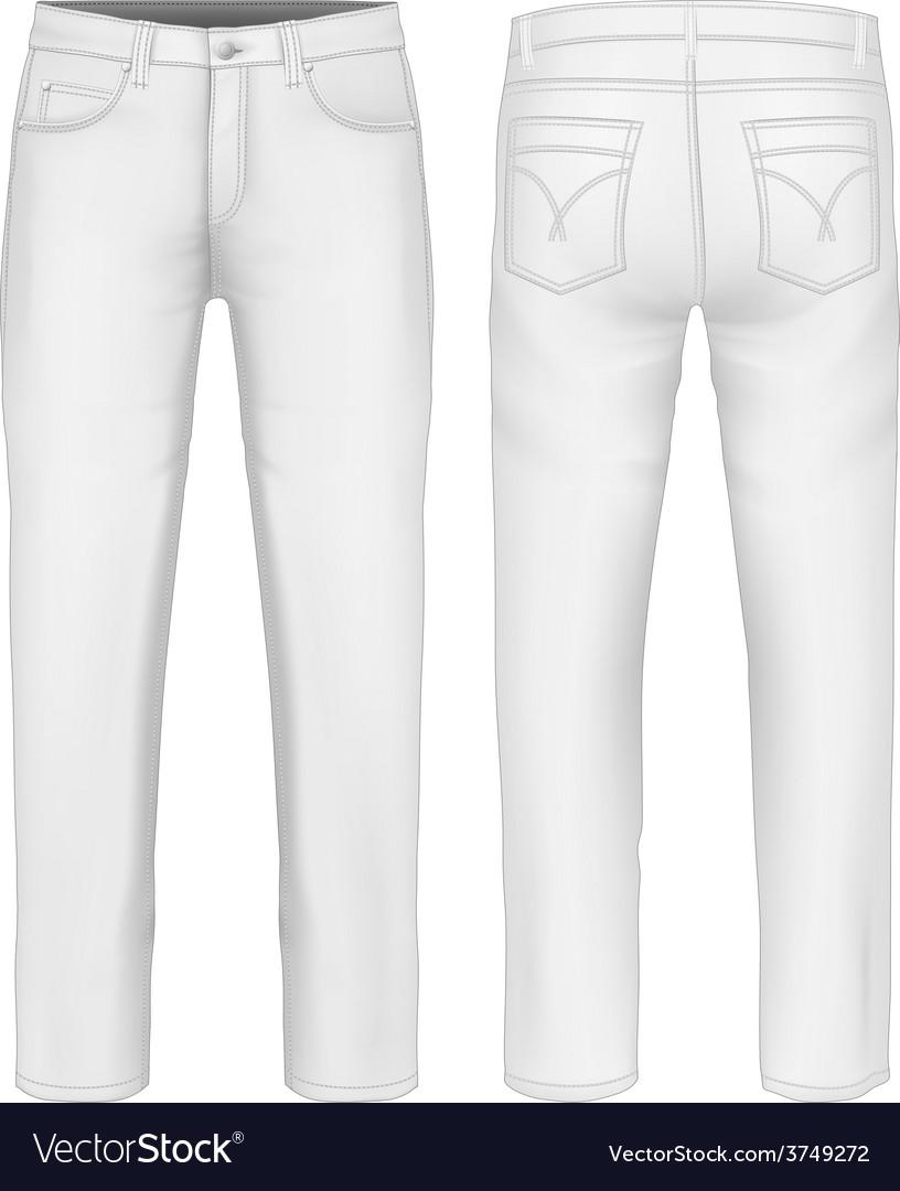 Men jeans vector   Price: 3 Credit (USD $3)