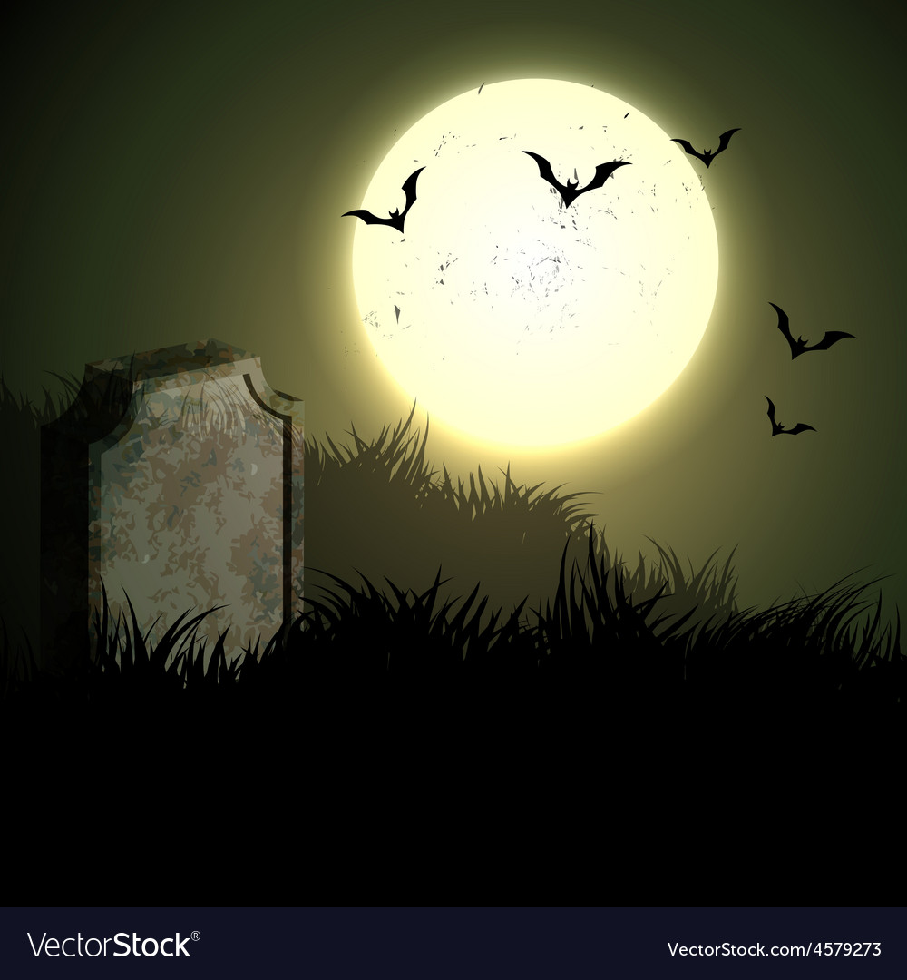 Creepy halloween night vector | Price: 1 Credit (USD $1)