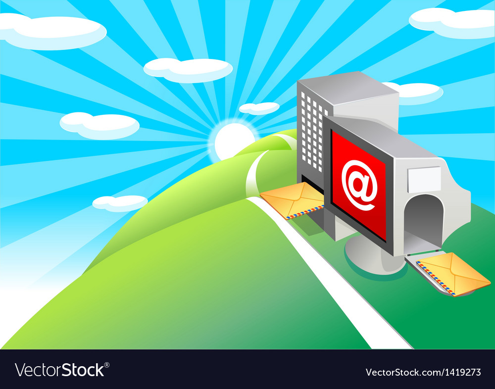 Email input output processing vector   Price: 1 Credit (USD $1)