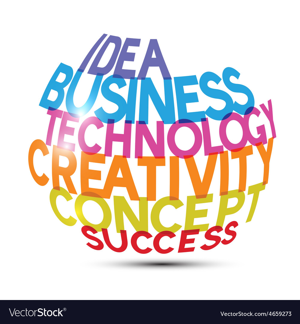 Idea business technology creativity concept vector | Price: 1 Credit (USD $1)
