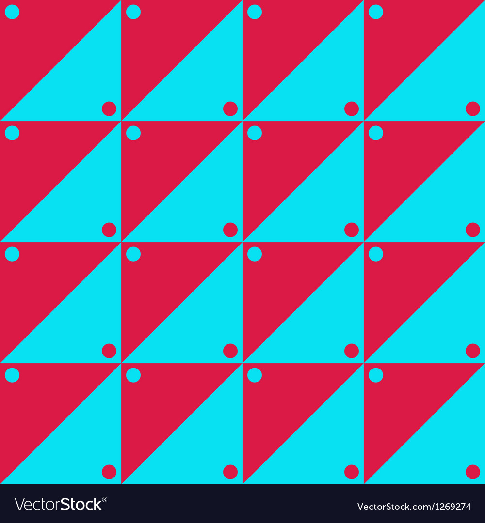 Red and blue simple pattern vector | Price: 1 Credit (USD $1)