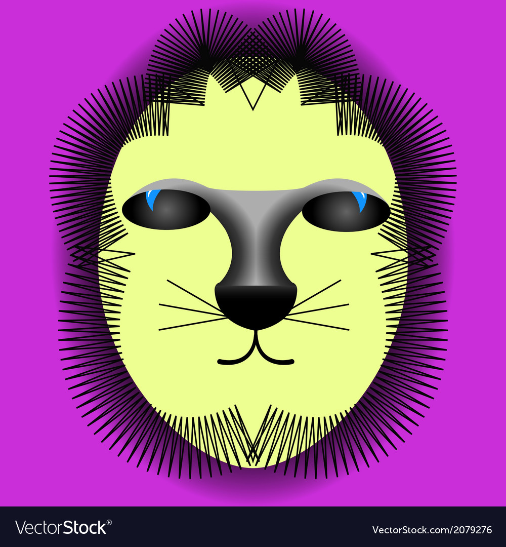 Funny abstract animal vector | Price: 1 Credit (USD $1)
