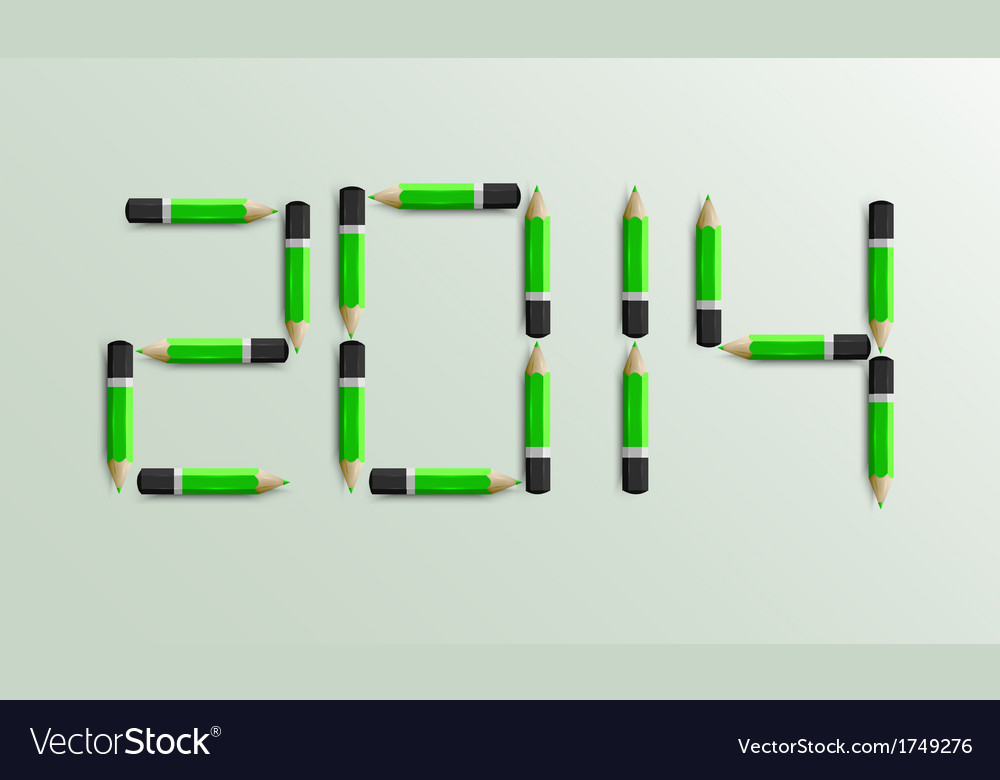 New year 2014 background eps10 vector | Price: 1 Credit (USD $1)