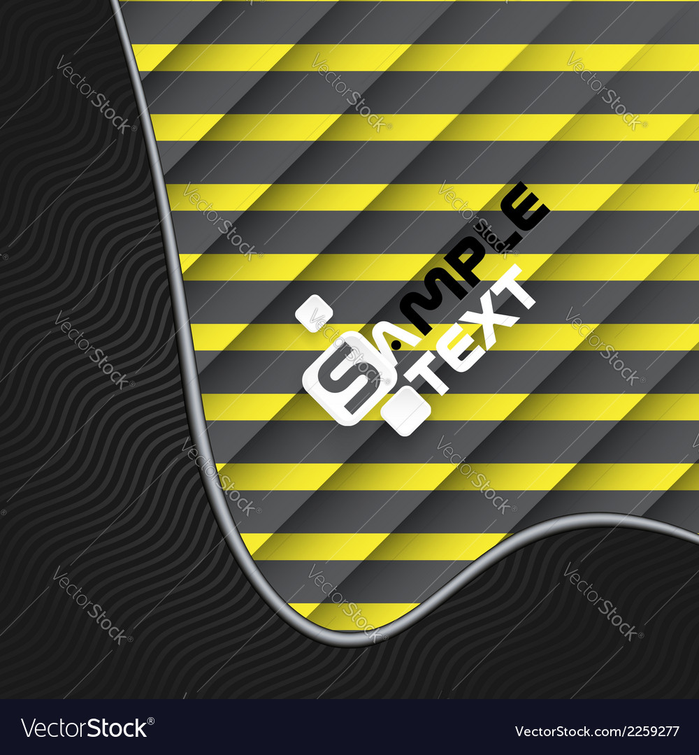 Black and yellow striped background vector   Price: 1 Credit (USD $1)