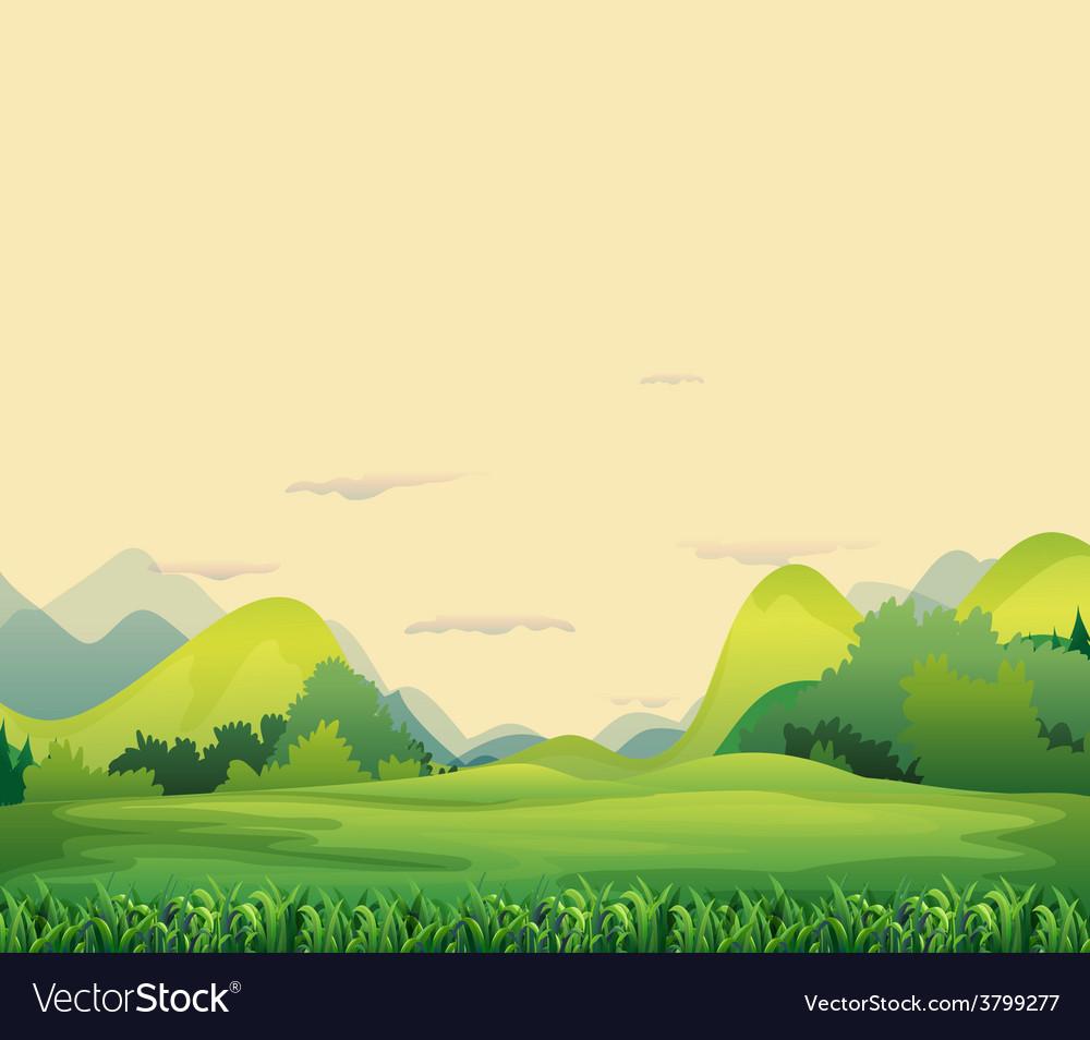 Different landforms vector | Price: 1 Credit (USD $1)