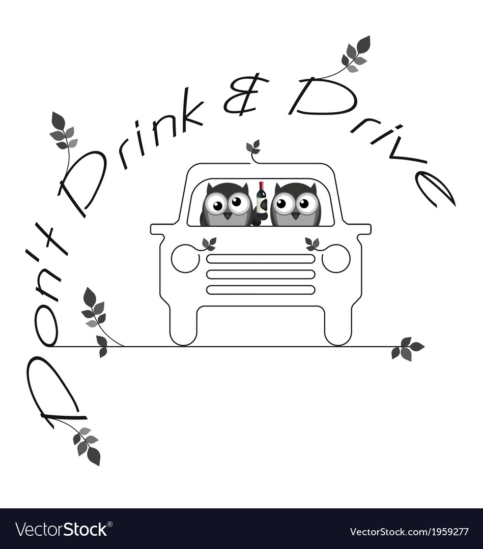 Drink drive vector | Price: 1 Credit (USD $1)