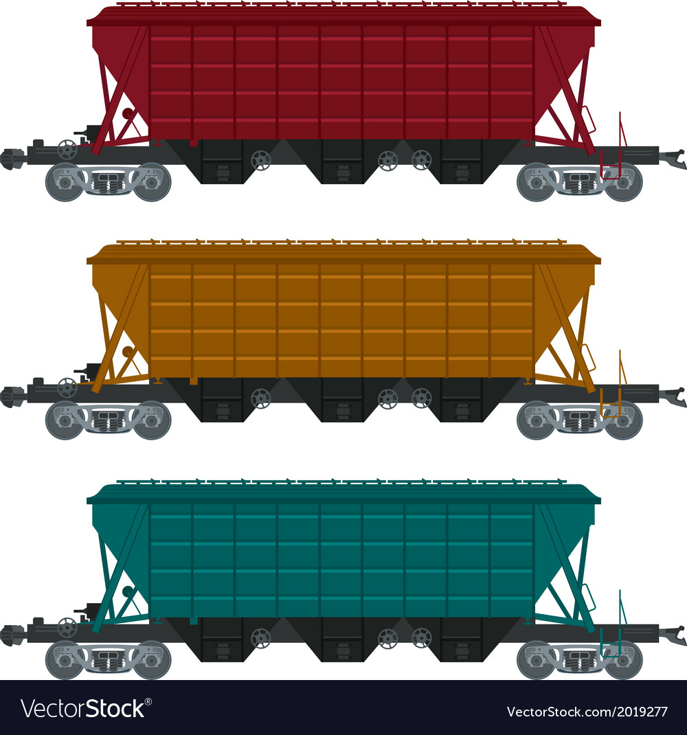 Freight car vector | Price: 1 Credit (USD $1)