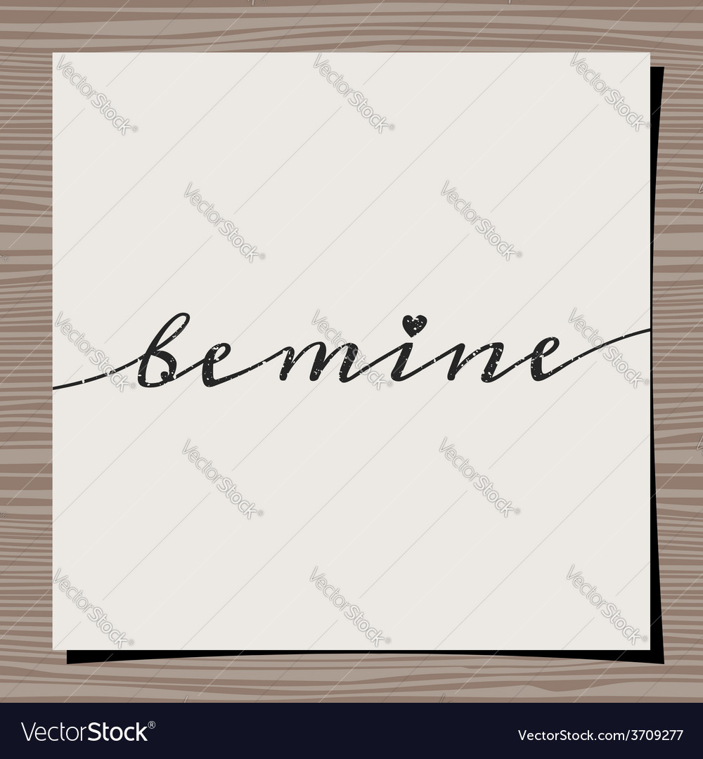 Vintage typographic valentines day design card vector   Price: 1 Credit (USD $1)