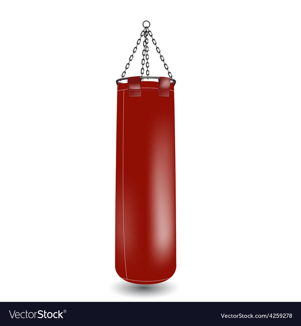 Boxing punching bageps 10 vector | Price: 1 Credit (USD $1)