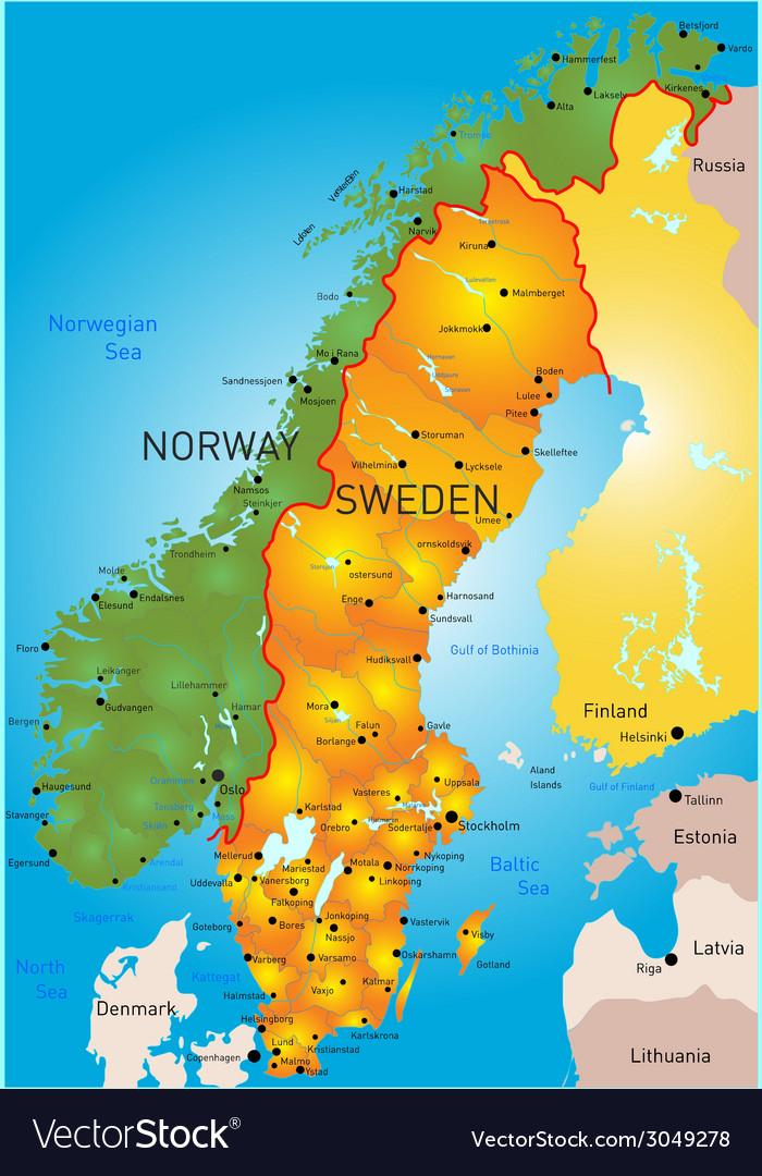 Sweden vector   Price: 1 Credit (USD $1)